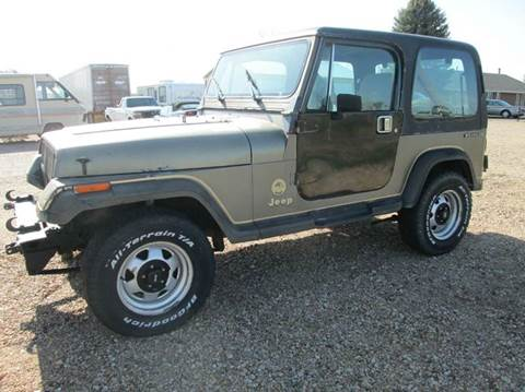 1988 Jeep Wrangler for sale in Eaton, CO