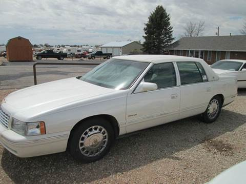 1999 Cadillac DeVille for sale at STEVES ROLLIN STONE AUTO SALES in Eaton CO