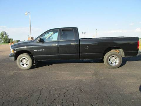 2004 Dodge Ram Pickup 1500 for sale at STEVES ROLLIN STONE AUTO SALES in Eaton CO
