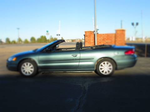 2006 Chrysler Sebring for sale at STEVES ROLLIN STONE AUTO SALES in Eaton CO