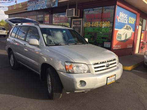 2006 Toyota Highlander for sale in Santee, CA