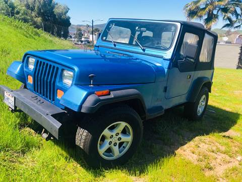 1993 Jeep Wrangler for sale in Santee, CA