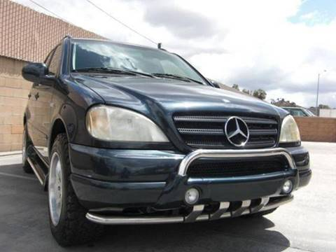 2000 Mercedes-Benz M-Class for sale at SANTEE AUTO SALES & SERVICES in Santee CA