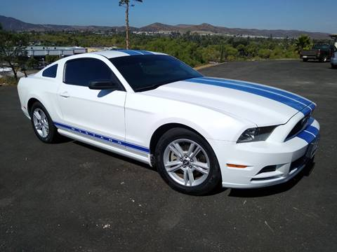 2014 Ford Mustang for sale at SANTEE AUTO SALES & SERVICES in Santee CA