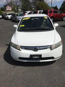 2007 Honda Civic for sale in West Bridgewater, MA