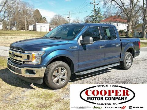 2018 Ford F-150 for sale in Clinton, SC