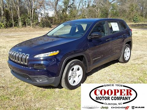 2016 Jeep Cherokee for sale in Clinton, SC