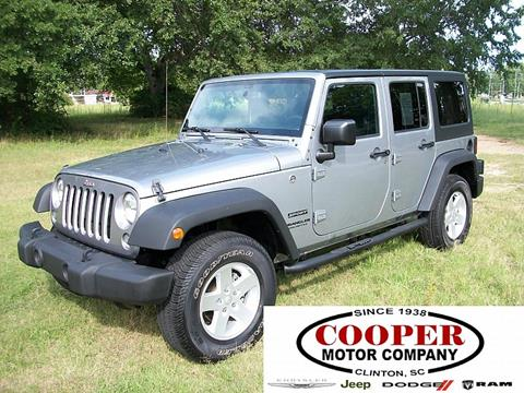 Jeep Chrysler Cars Diesel Trucks For Sale Clinton Cooper
