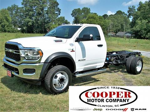 2019 RAM Ram Chassis 5500 for sale in Clinton, SC