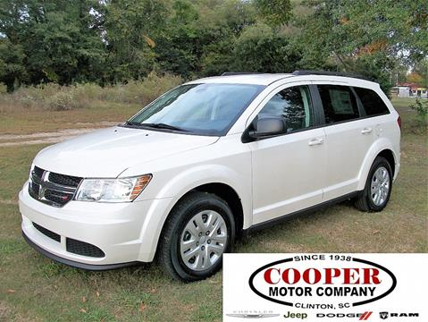 2018 Dodge Journey for sale at Cooper Motor Company in Clinton SC