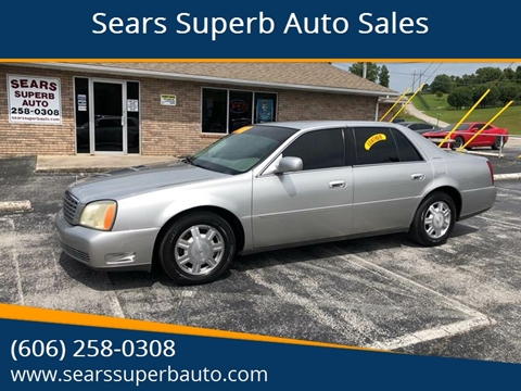 buy here pay here car lots in corbin ky  Sears Superb Auto Sales - Used Cars - Corbin KY Dealer