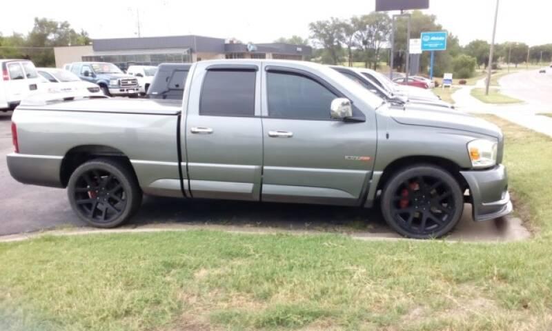 2006 Dodge Ram Pickup 1500 SRT-10 4dr Quad Cab SB - Topeka KS