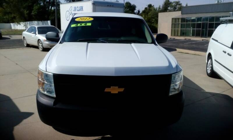 2012 Chevrolet Silverado 1500 Work Truck 4WD - Topeka KS