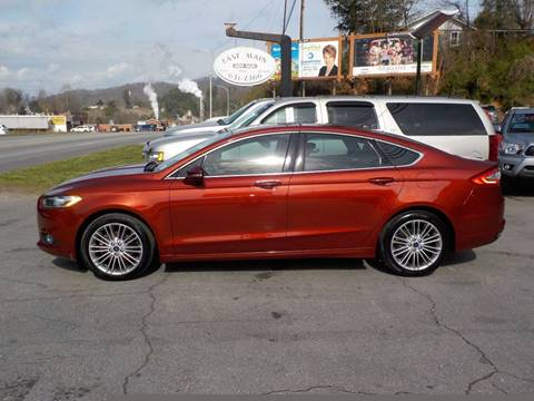 2014 Ford Fusion for sale in Sylva, NC