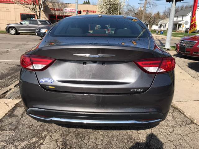 2016 Chrysler 200 Limited Platinum 4dr Sedan - Toledo OH
