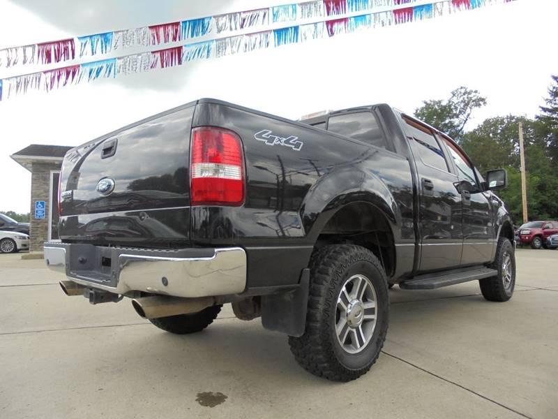 2008 Ford F-150 4x4 XLT 4dr SuperCrew Styleside 5.5 ft. SB - Cambridge OH