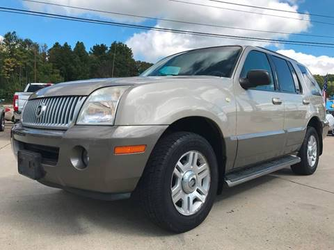2004 Mercury Mountaineer for sale in Cambridge, OH