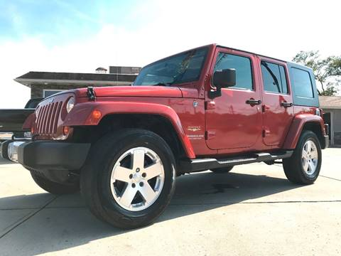2009 Jeep Wrangler Unlimited for sale in Cambridge, OH