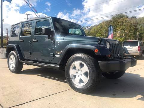2007 Jeep Wrangler Unlimited for sale in Cambridge, OH