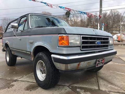 1991 ford bronco for sale carsforsale com