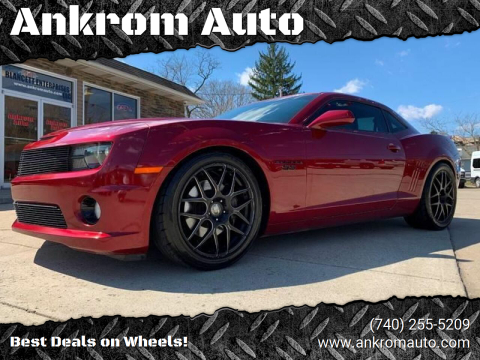 2011 Chevrolet Camaro for sale at Ankrom Auto in Cambridge OH
