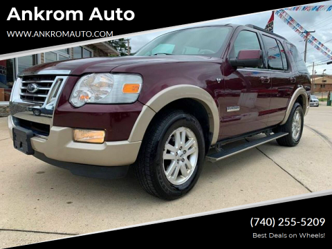 2008 Ford Explorer for sale at Ankrom Auto in Cambridge OH