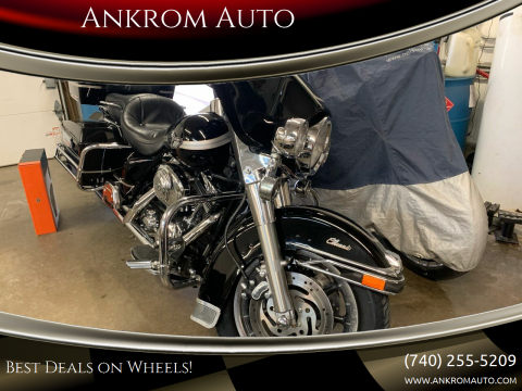 2003 Harley-Davidson ELECTRA GLIDE ULTRA CLASSIC for sale at Ankrom Auto in Cambridge OH