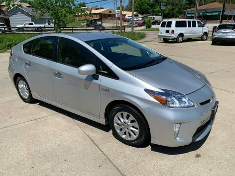 2014 Toyota Prius Plug-in Hybrid for sale at Ankrom Auto in Cambridge OH
