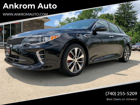 2016 Kia Optima for sale at Ankrom Auto in Cambridge OH