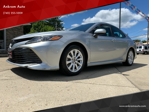 2018 Toyota Camry for sale at Ankrom Auto in Cambridge OH