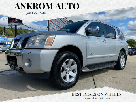 2005 Nissan Armada for sale at Ankrom Auto in Cambridge OH