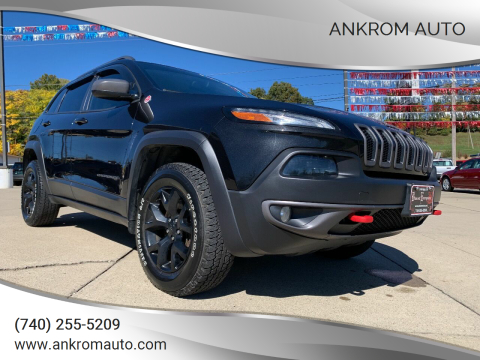 2014 Jeep Cherokee for sale at Ankrom Auto in Cambridge OH