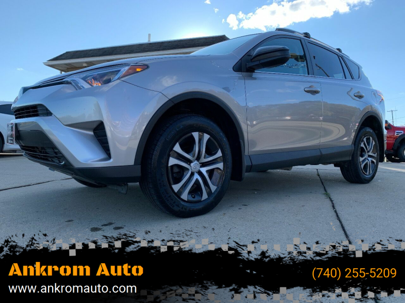 2017 Toyota RAV4 for sale at Ankrom Auto in Cambridge OH