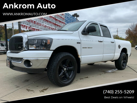 2007 Dodge Ram Pickup 1500 for sale at Ankrom Auto in Cambridge OH