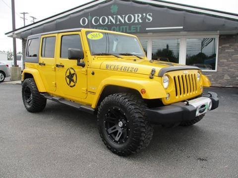 2015 Jeep Wrangler Unlimited for sale in Bay City, MI