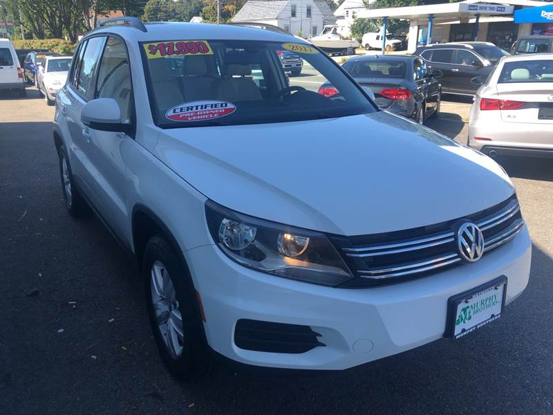 2017 Volkswagen Tiguan AWD 2.0T S 4Motion 4dr SUV - North Weymouth MA