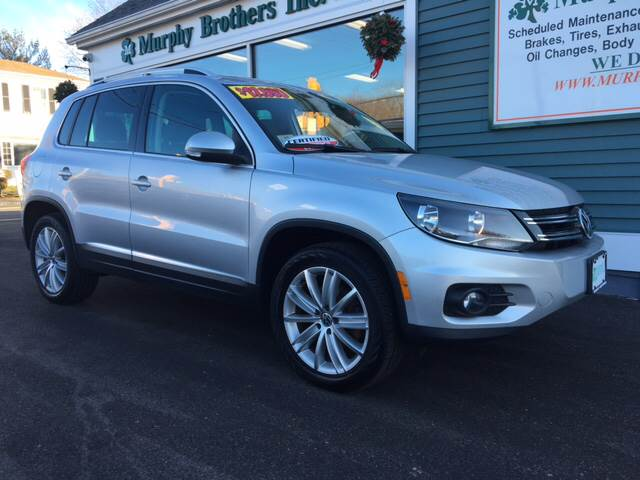 2012 Volkswagen Tiguan SE 4Motion 4dr SUV w/ Sunroof and Navigation - North Weymouth MA
