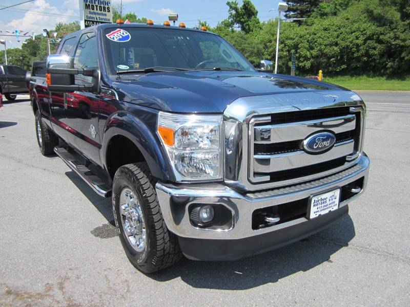 2012 Ford F-250 Super Duty 4x4 XLT 4dr Crew Cab 8 ft. LB Pickup - Westminster MD