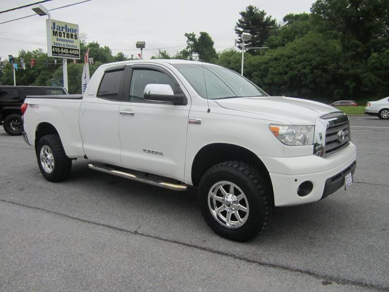2008 Toyota Tundra 4x4 Limited 4dr Double Cab (5.7L V8) - Westminster MD