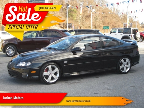 2006 Pontiac GTO for sale in Westminster, MD