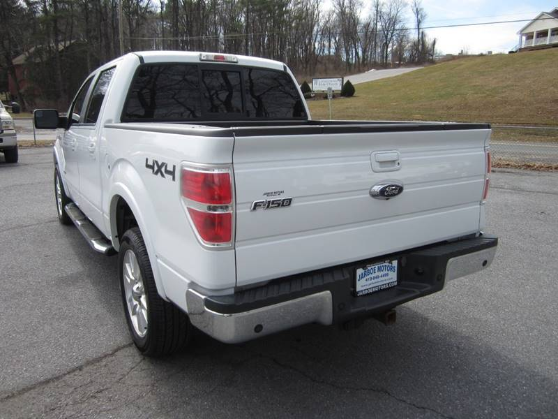 2013 Ford F-150 4x4 Lariat 4dr SuperCrew Styleside 5 5 ft