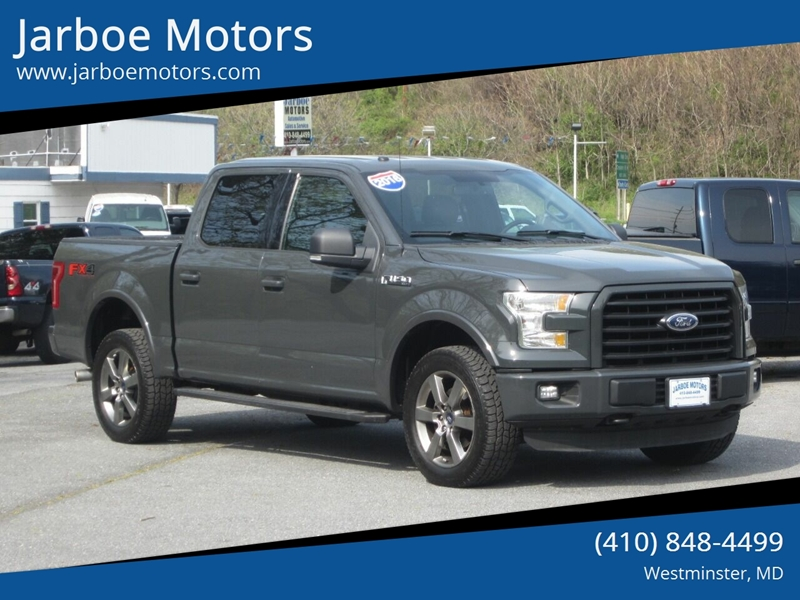 2016 Ford F-150 4x4 XLT 4dr SuperCrew 5 5 ft  SB In Westminster MD