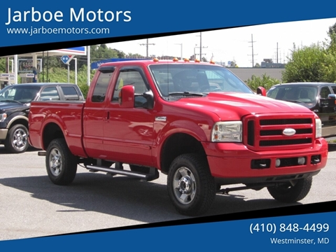 2006 Ford F-250 Super Duty for sale in Westminster, MD