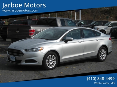 2016 Ford Fusion for sale in Westminster, MD