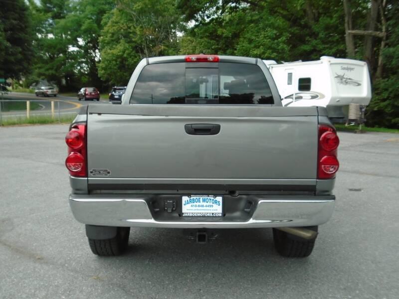 2007 Dodge Ram Pickup 1500 SLT 4dr Quad Cab 4WD SB - Westminster MD