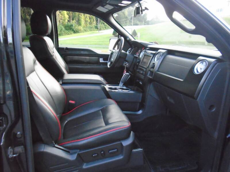 2012 Ford F-150 4x4 FX4 4dr SuperCrew Styleside 5.5 ft. SB - Westminster MD