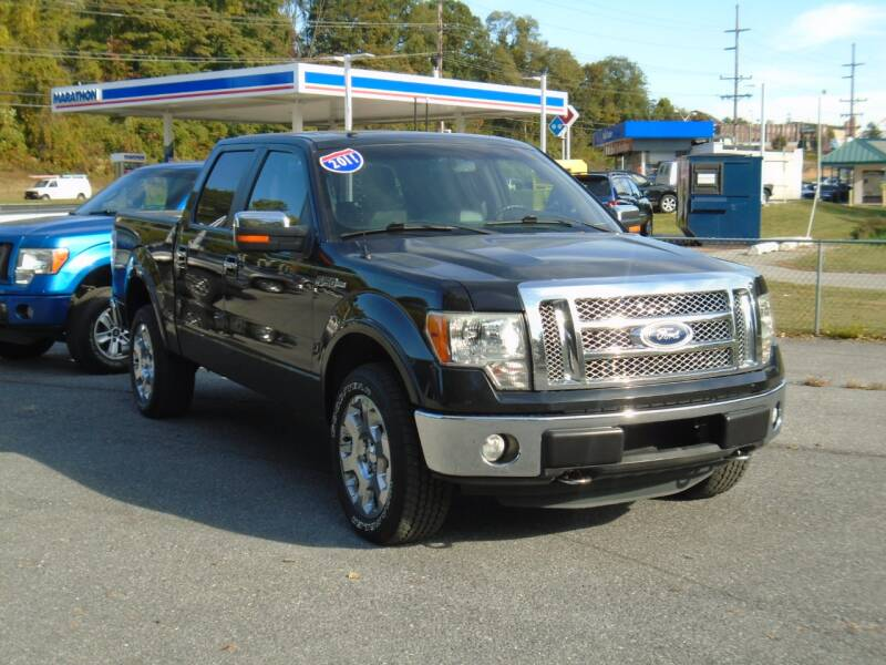 2011 Ford F-150 4x4 Lariat 4dr SuperCrew Styleside 5.5 ft. SB - Westminster MD