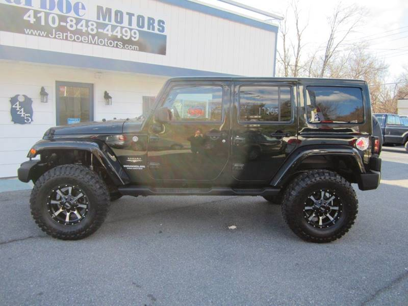 2012 Jeep Wrangler Unlimited 4x4 Sahara 4dr SUV - Westminster MD
