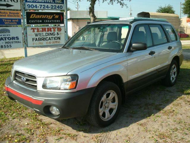 2005 Subaru Forester for sale at NETWORK TRANSPORTATION INC in Jacksonville FL