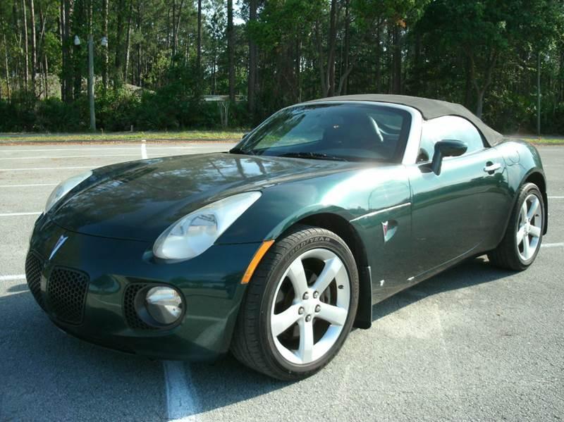 2008 Pontiac Solstice for sale at NETWORK TRANSPORTATION INC in Jacksonville FL